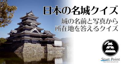 日本の名城クリッククイズ
