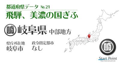 岐阜県統計データ